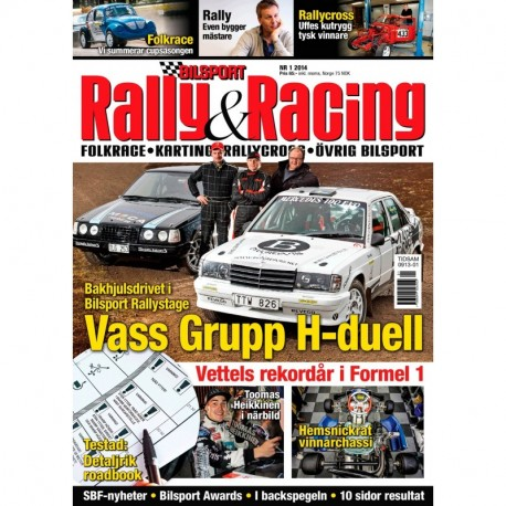 Bilsport Rally&Racing nr 1 2014