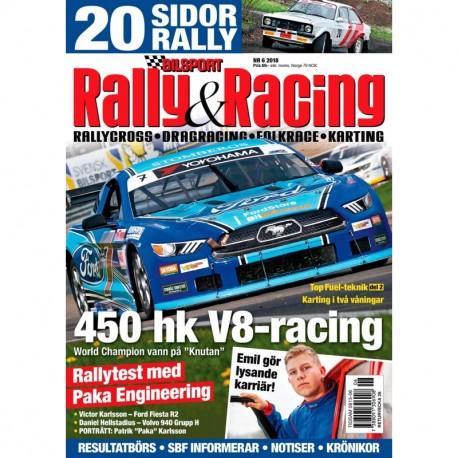 Bilsport Rally & Racing nr 6 2018