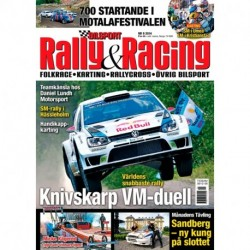 Bilsport Rally&Racing nr 9 2014