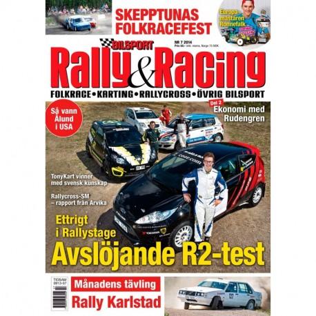 Bilsport Rally&Racing nr 7 2014