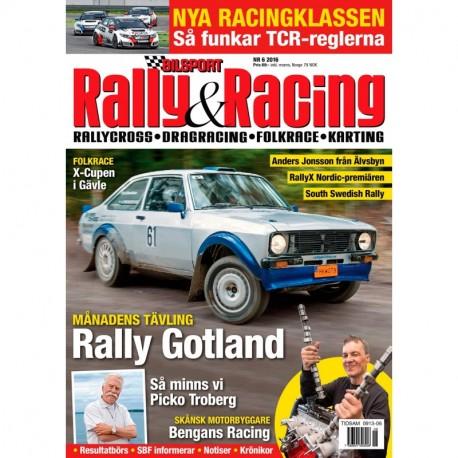 Bilsport Rally&Racing nr 6 2016