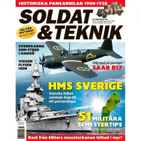 Soldat & Teknik nr 3 2012