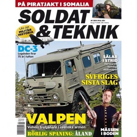 Soldat & Teknik nr 1 2011