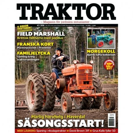 Traktor nr 3 2016