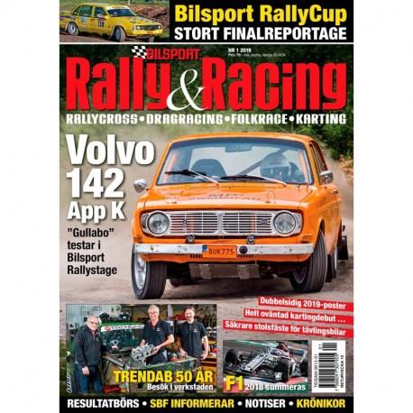 Bilsport Rally & Racing nr 1 2019
