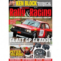 Bilsport Rally & Racing nr 4 2019