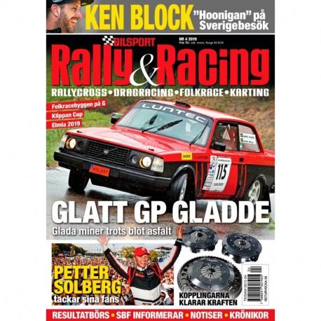 Bilsport Rally & Racing nr 4 2019
