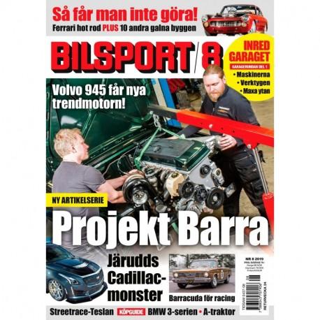 Bilsport nr 8 2019