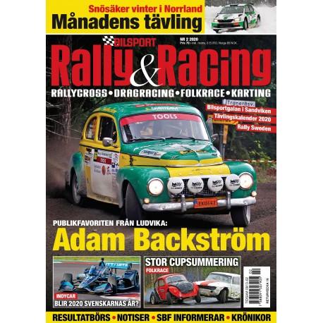 Prenumerera på Bilsport Rally&Racing