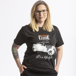 T-shirt med Hot Rod, Bilsport Classic