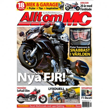 Allt om MC nr 12 2012