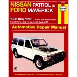 Nissan Patrol 1988-1997 Ford Maverick 1988-1994