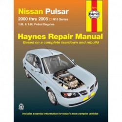 Nissan Pulsar 2000-2005