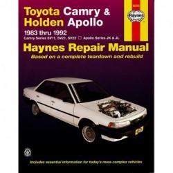 Toyota Camry 1983-1992 Holden Apollo 1989-1993