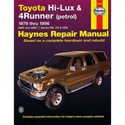 Toyota Hi Lux 4x4 4x2 Petrol Toyota 4 Runner Petrol 1979-1997