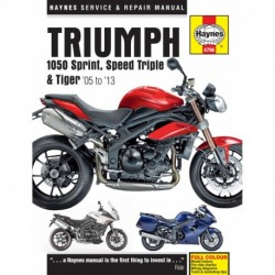 Triumph 1050 Sprint ST Speed Triple & Tiger 2005 - 2009