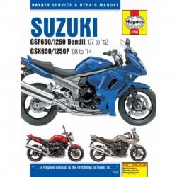 Suzuki GSF650/1250 Bandit & GSX650/1250F 2007 - 2014