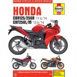 Honda CBR125R CBR250R & CRF250L/M 2011 - 2014