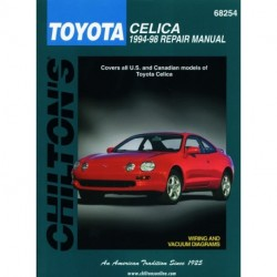 Toyota Celica Chilton Repair Manual covering all models for 1994-98