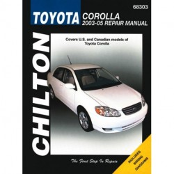 Toyota Corolla Chilton Repair Manual for 2003-11 (Does not include information specific to XRS models)