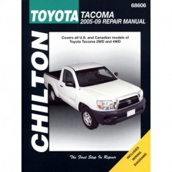 Toyota Tacoma Chilton Repair Manual covering all models for 2005-09