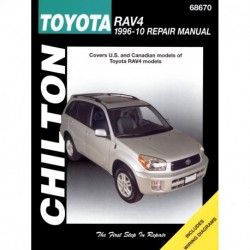 Toyota RAV4 Chilton Repair Manual for 1996-12 (USA)