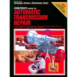 Chilton Total Service Series for Automatic Transmission Repair of domestic vehicles from 1974-80
