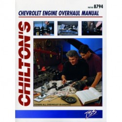 Chilton Total Service Series for Chevrolet Engine Overhaul covering 267283305307327350396400402 and 454 cubic inch