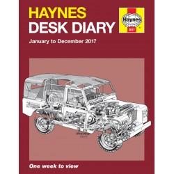 Haynes 2017 Desk Diary