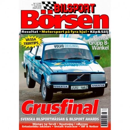 Bilsport Börsen nr 1  2005