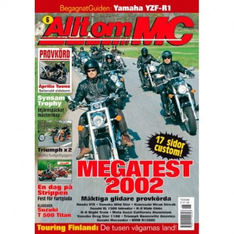 Allt om MC nr 6  2002