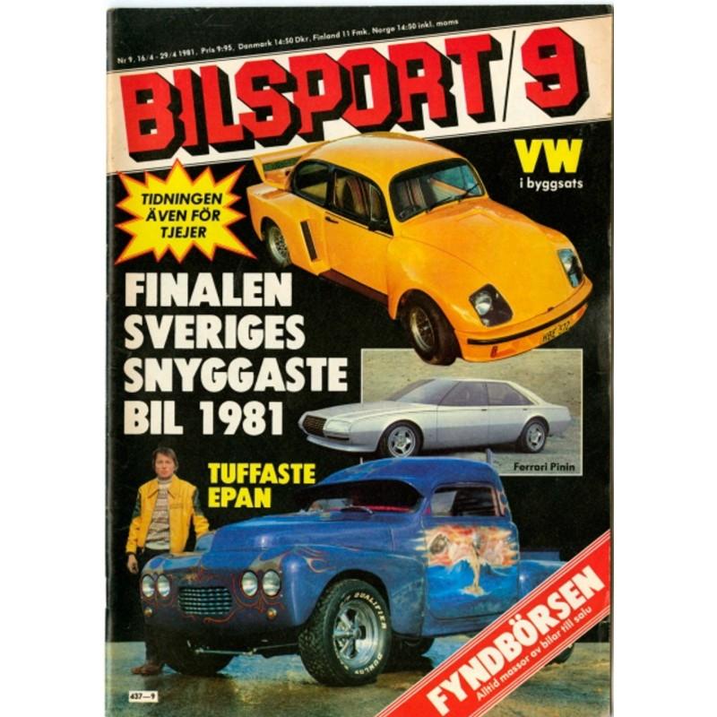 Bilsport 81-9