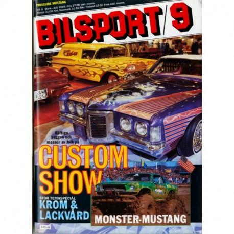 Bilsport nr 9  1989