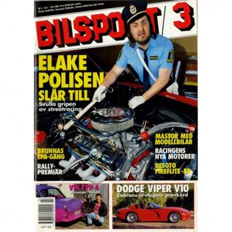 Bilsport nr 3  1991