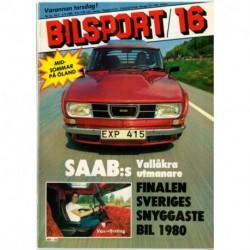 Bilsport nr 16  1980
