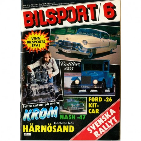 Bilsport nr 6  1983