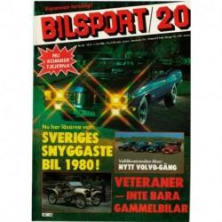 Bilsport nr 20  1980