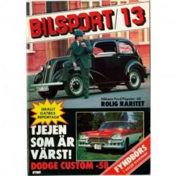 Bilsport nr 13  1981