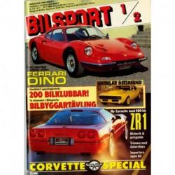 Bilsport nr 1  1989