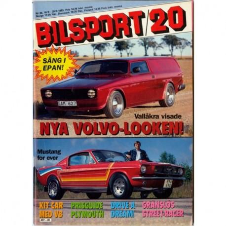 Bilsport nr 20  1983