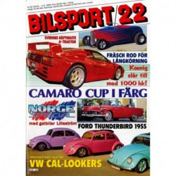 Bilsport nr 22  1989