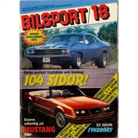 Bilsport nr 18  1983