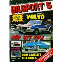 Bilsport nr 5  1982