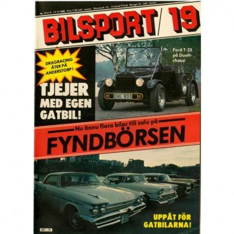 Bilsport nr 19  1980