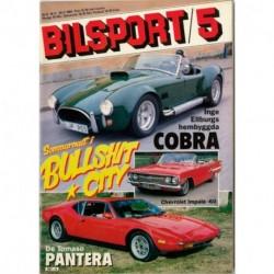Bilsport nr 5  1984