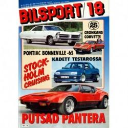 Bilsport nr 18  1987
