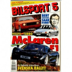 Bilsport nr 5  1995