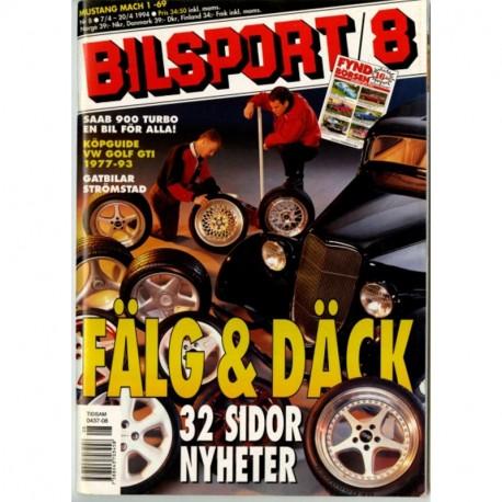 Bilsport nr 8  1994
