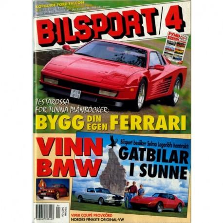 Bilsport nr 4  1994