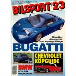 Bilsport nr 23  1991